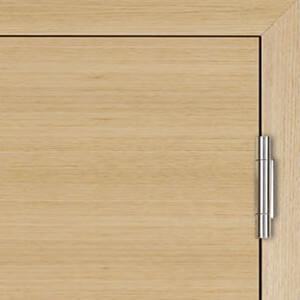 3 teiliges Band für stumpfe Türen