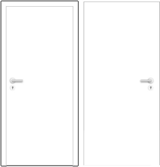 Grundtypen einer Tür