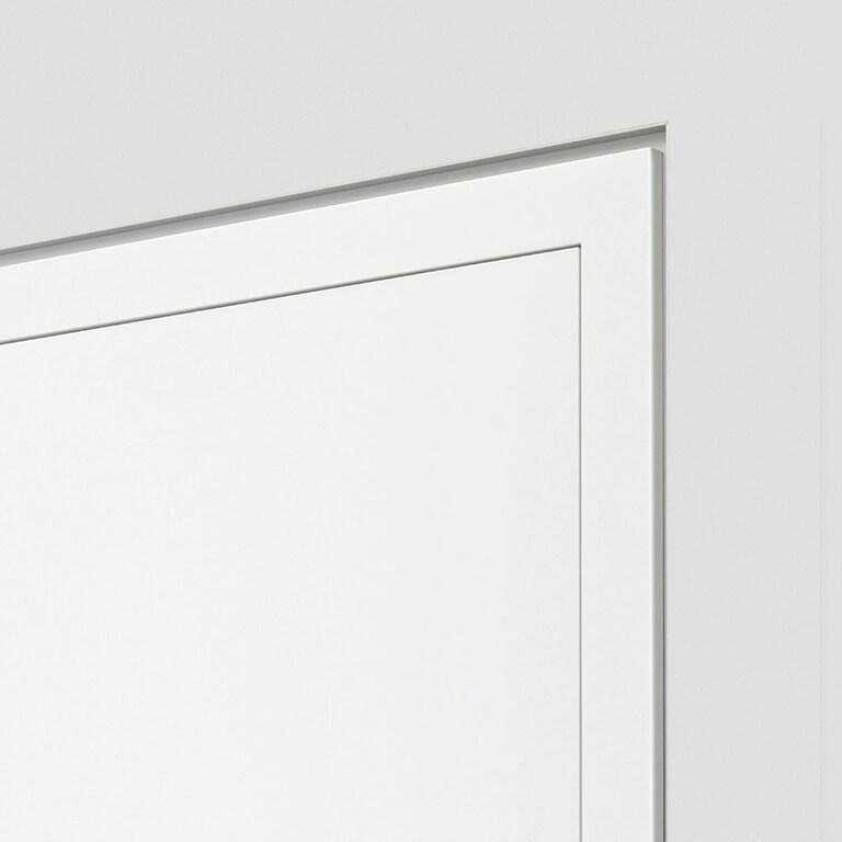 Wandbündige Tür – stumpf mit Blockzarge