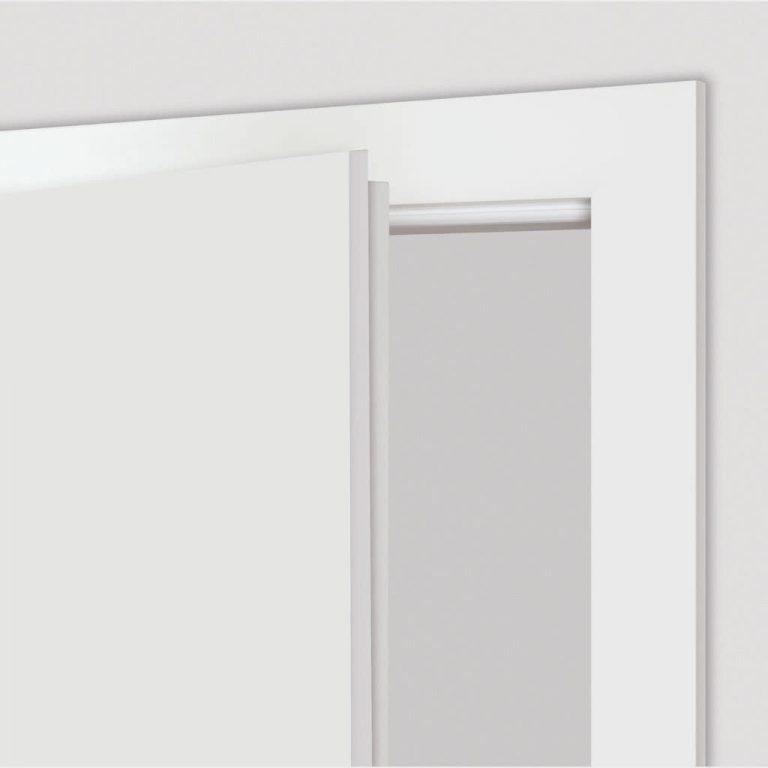 Gefälzte Tür geöffnet