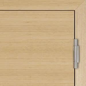 VX7729 - 3-teiliges Band für stumpfe Türen