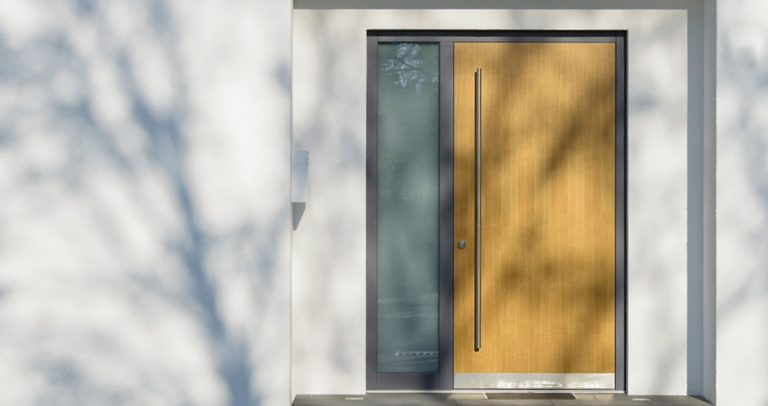 Haustür der Reihe Basic Natura Haustüren