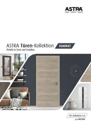 ASTRA Kompakt 4.0 - CPL Türen Kollektion