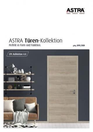 ASTRA CPL Türen Kollektion 4.0