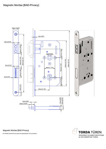 TORDA Technische Details - Magnet-Schloss