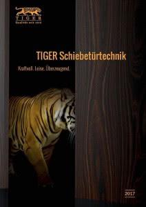TIGER Schiebetürtechnik 2017