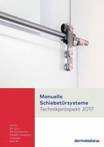 dormakaba - Manuelle Schiebetürsysteme inkl. MUTO Technik 2017