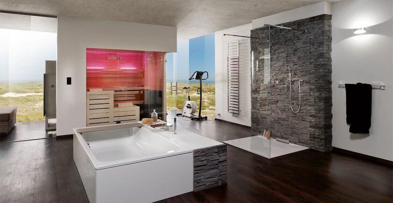 Duschsysteme frei begehbar