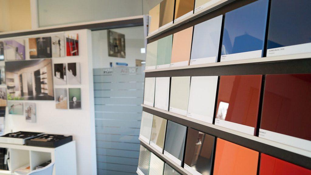 Farbtafeln für die Oberflächengestaltung
