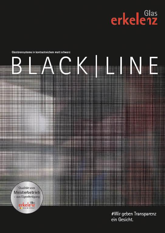Erkelenz Glastüren Black/Line