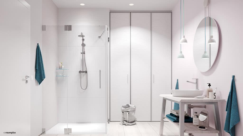 "FALTTÜR ""Bathroom"""
