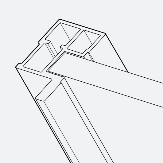 Profil S 720 asymmetrisch