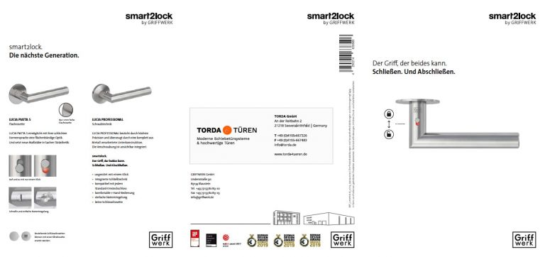 Griffwerk – Flyer smart2lock