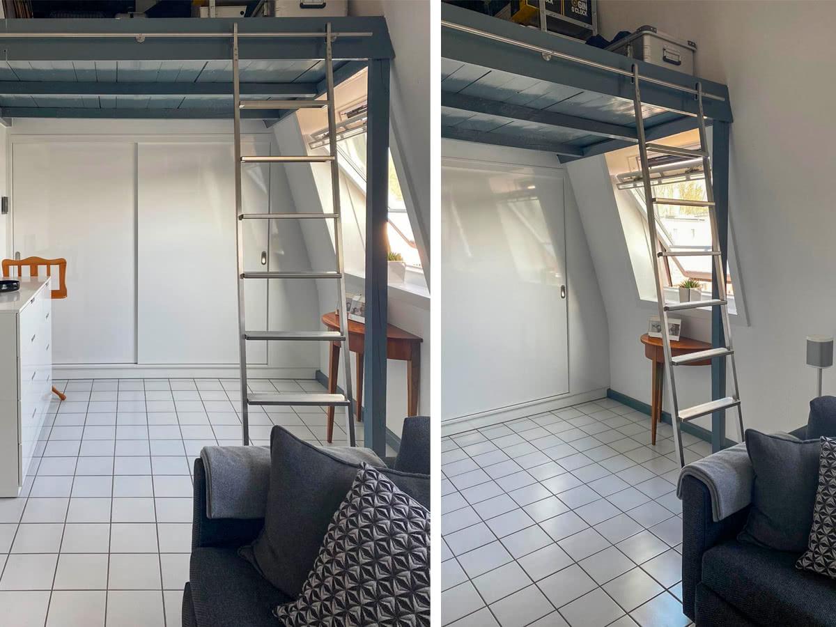Moderne minimalistische Leiter